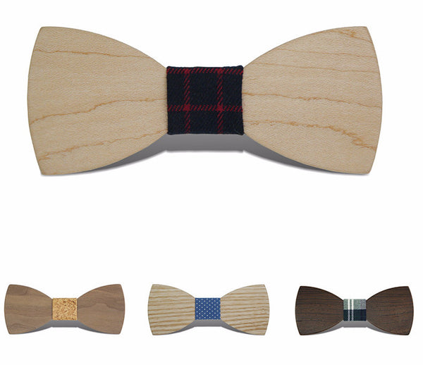 Gravata Borboleta Adult Wood Bow Ties Hardwood Handmade Personality Accessory Ties For Men