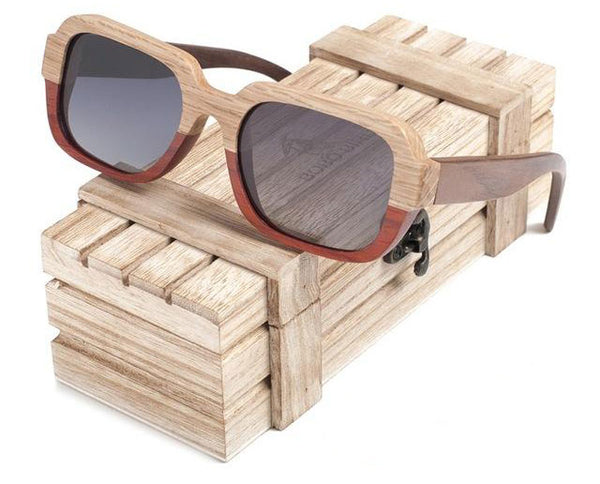 Riglook Men Wood Sunglasses WS10061