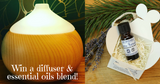 Enter To Win A Vaporising Diffuser & Essential Oils Blend Worth £73.50!