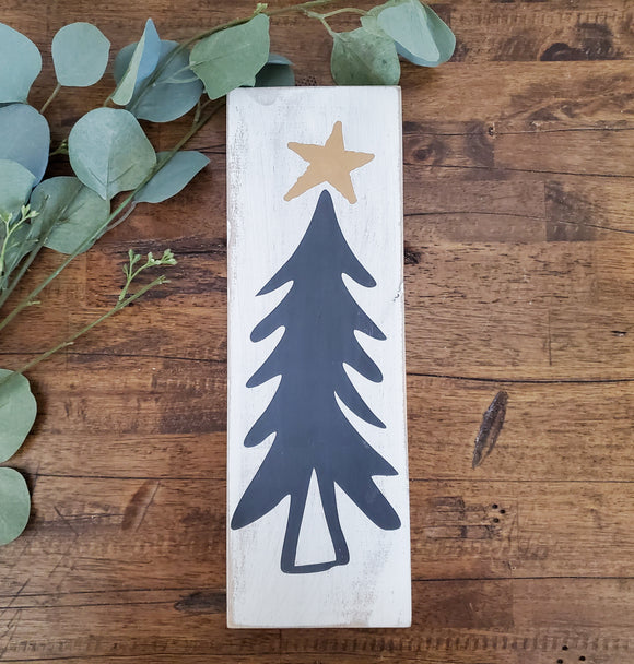 Wood Sign - Christmas Tree