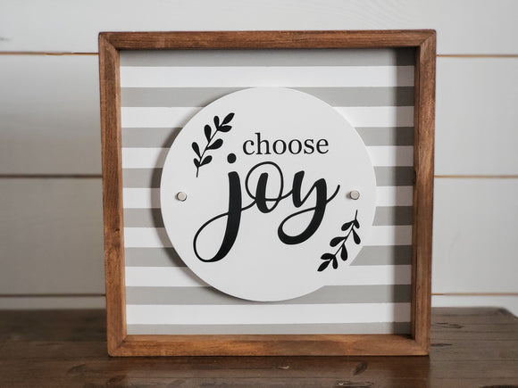 Choose Joy - Interchangeable Plate