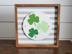 Shamrocks - Interchangeable Plate