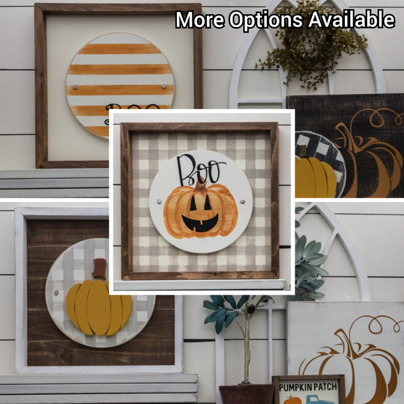 Fall/Halloween - Interchangeable Plate