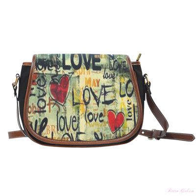 Saddle Bag - Retro Love
