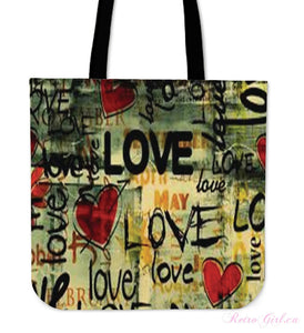 Tote Bag - Retro Love