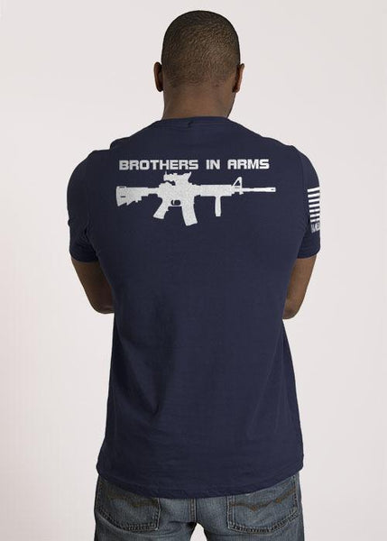 Brothers In Arms Midnight Navy T Shirt