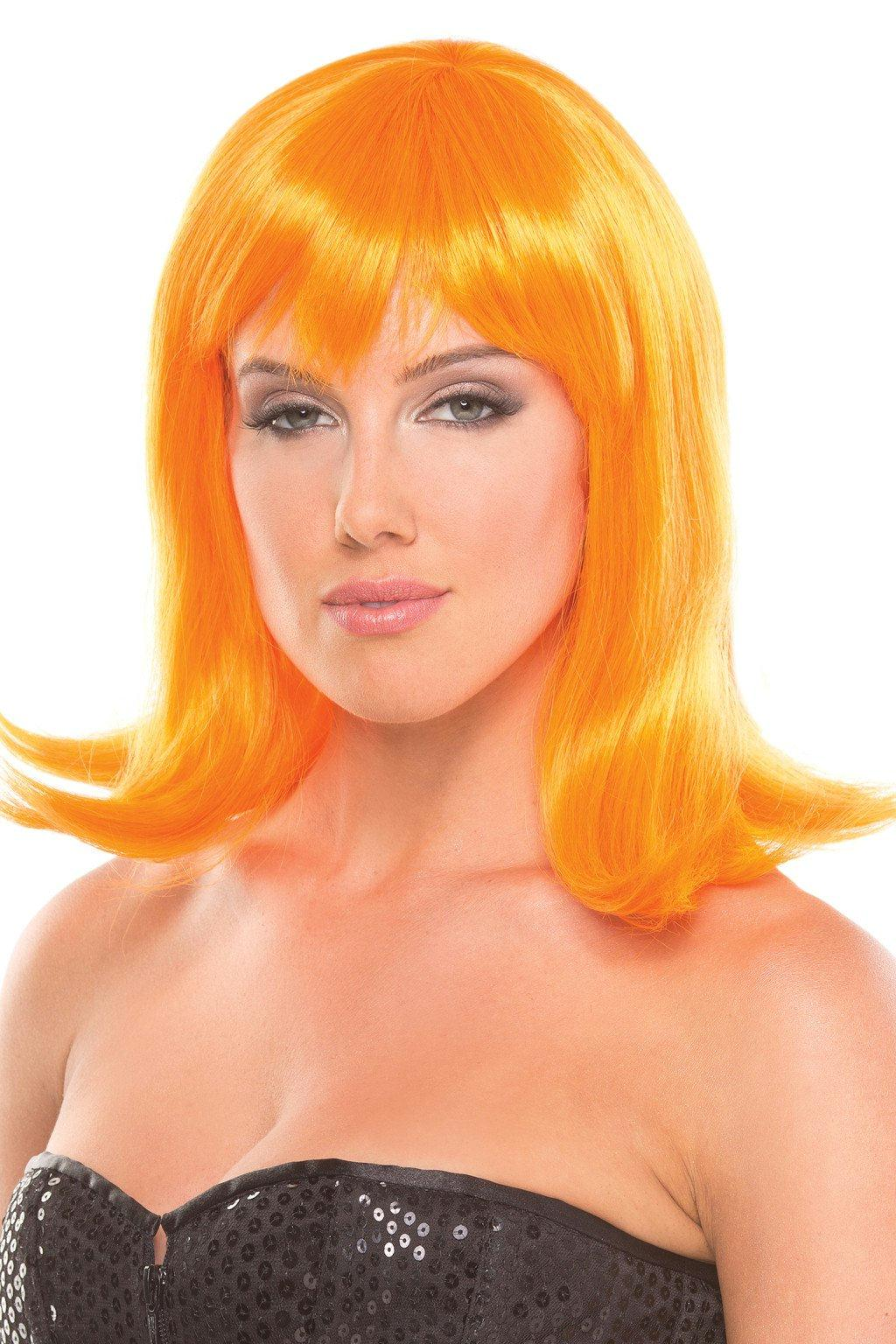 BW093OR Doll Wig Orange