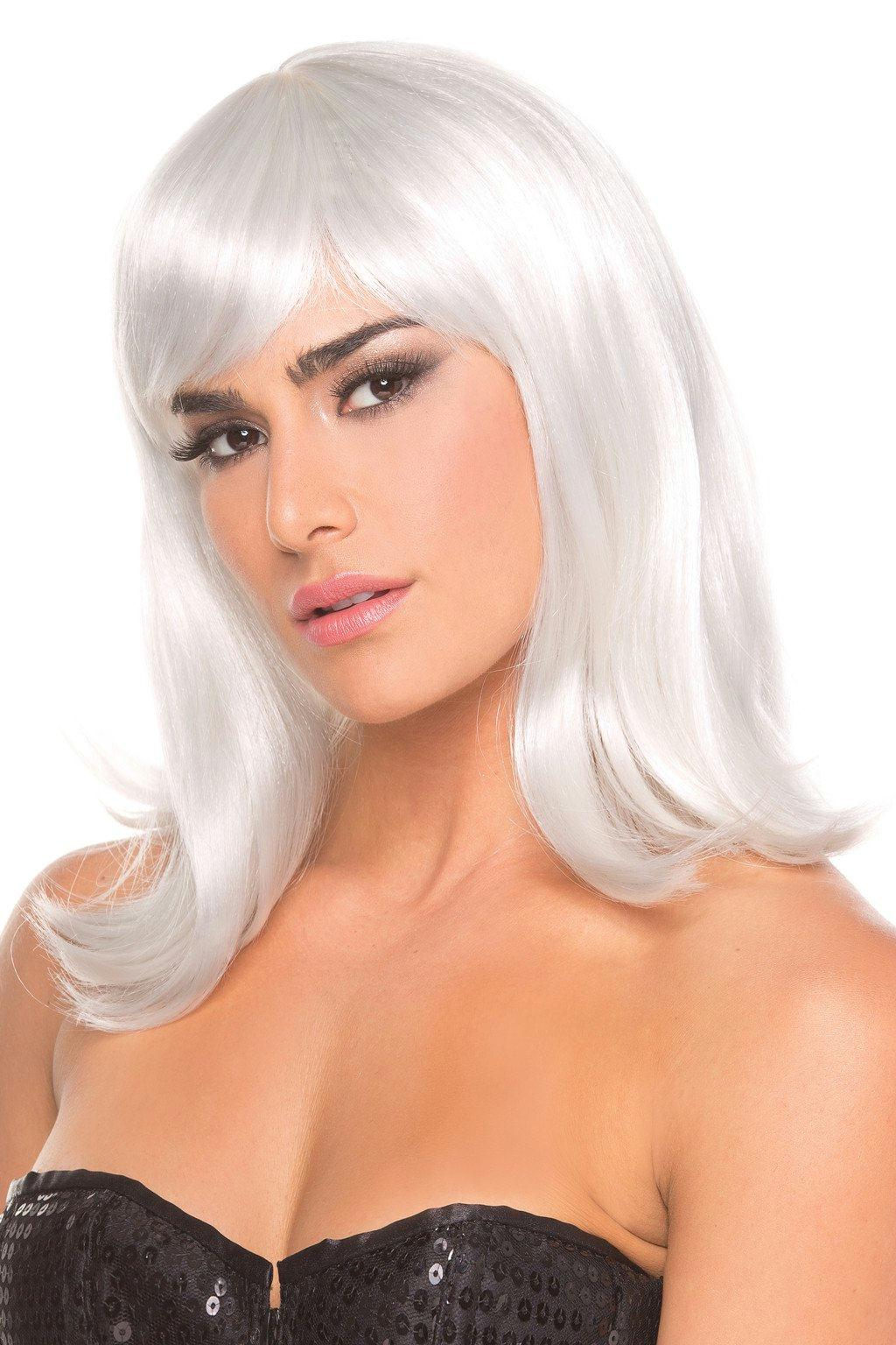 BW093WT Doll Wig White