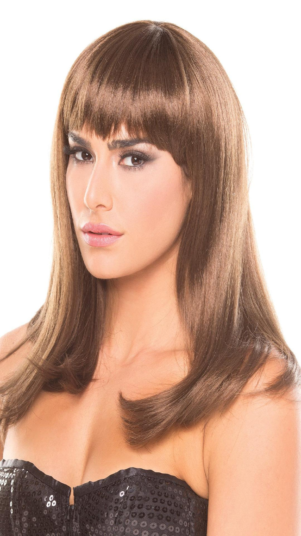 BW094BR Hollywood Wig Brown
