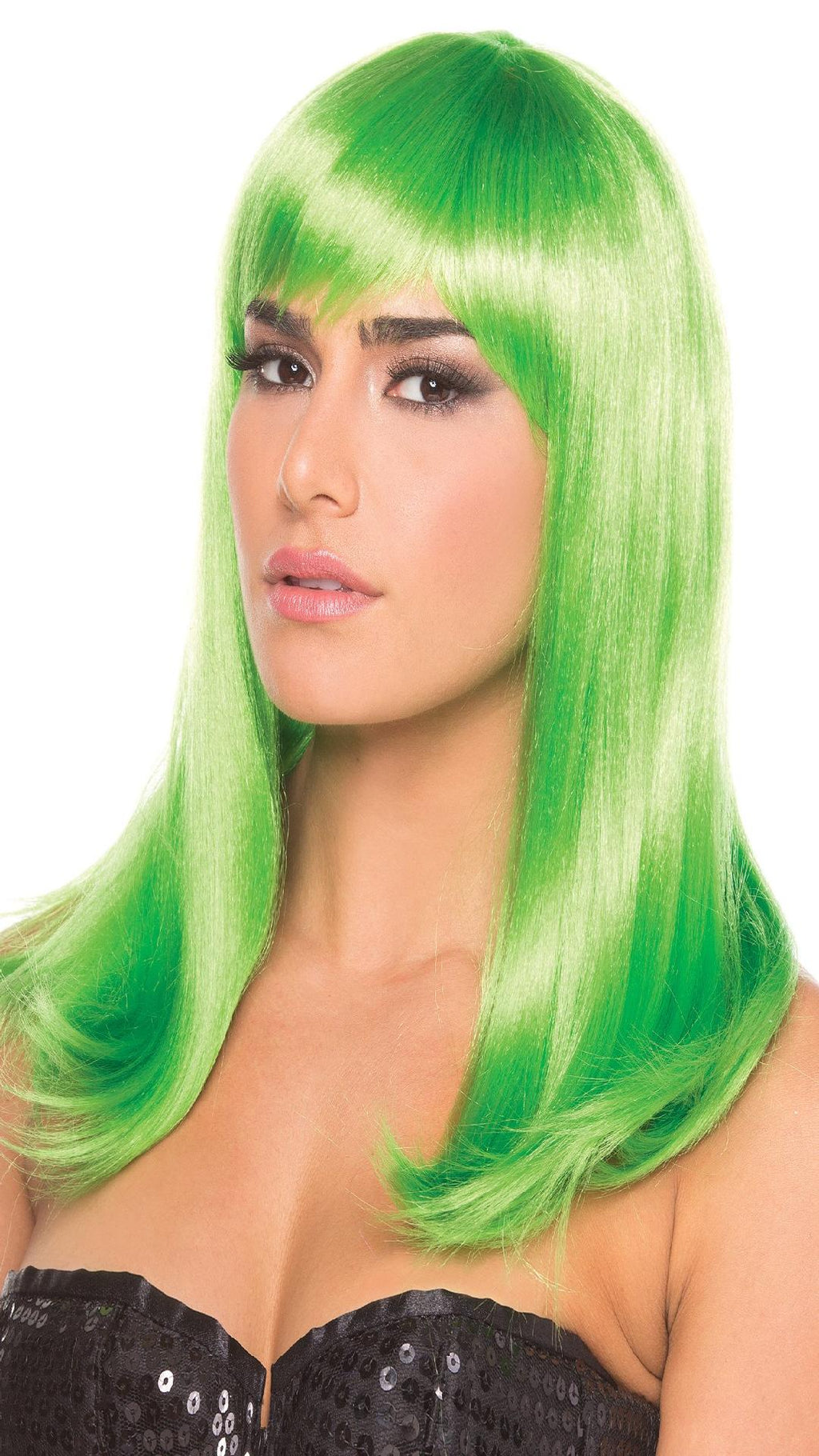 BW094GR Hollywood Wig Green