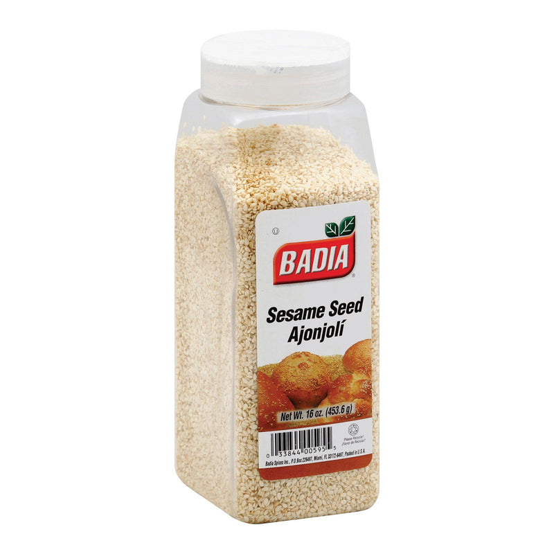 Badia Spices Sesame Seed - Hulled - Case Of 6 - 16 Oz.