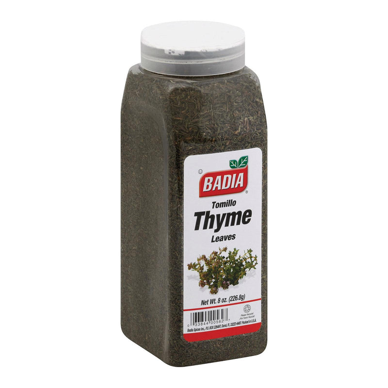 Badia Spices Whole Thyme Leave Spice - Case Of 6 - 8 Oz.