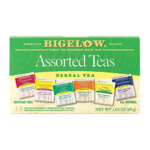 Bigelow Tea Assorted Herb Tea - Case Of 6 - 18 Bag