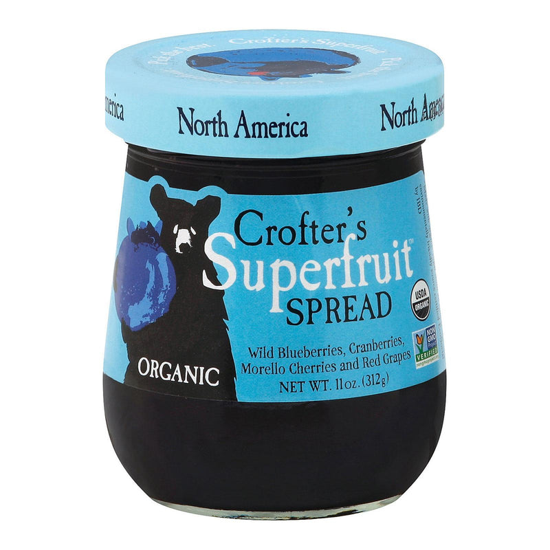 Crofters Superfruit Spreads - North America - Case Of 6 - 11 Oz.