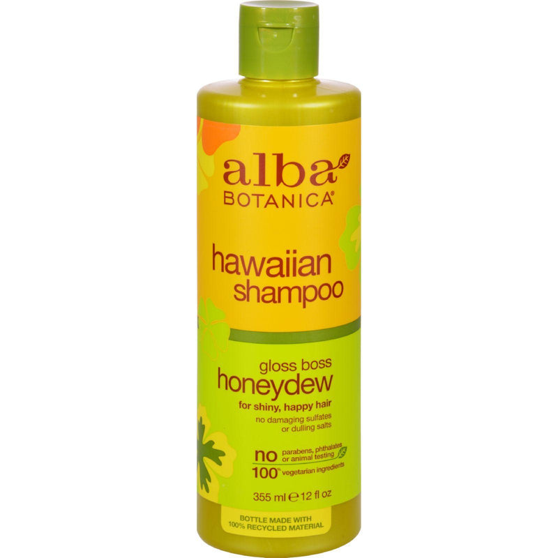Alba Botanica Hawaiian Hair Wash Honeydew Nourishing - 12 Fl Oz