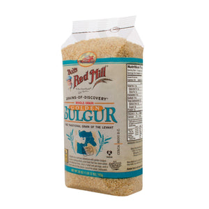 Bob's Red Mill Golden Bulgur - Soft White Wheat Ala - 28 Oz - Case Of 4