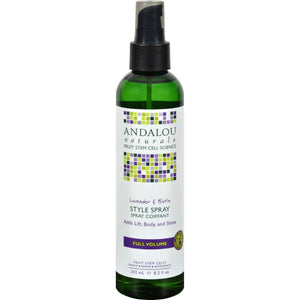 Andalou Naturals Full Volume Style Spray Lavender And Biotin - 8.2 Fl Oz