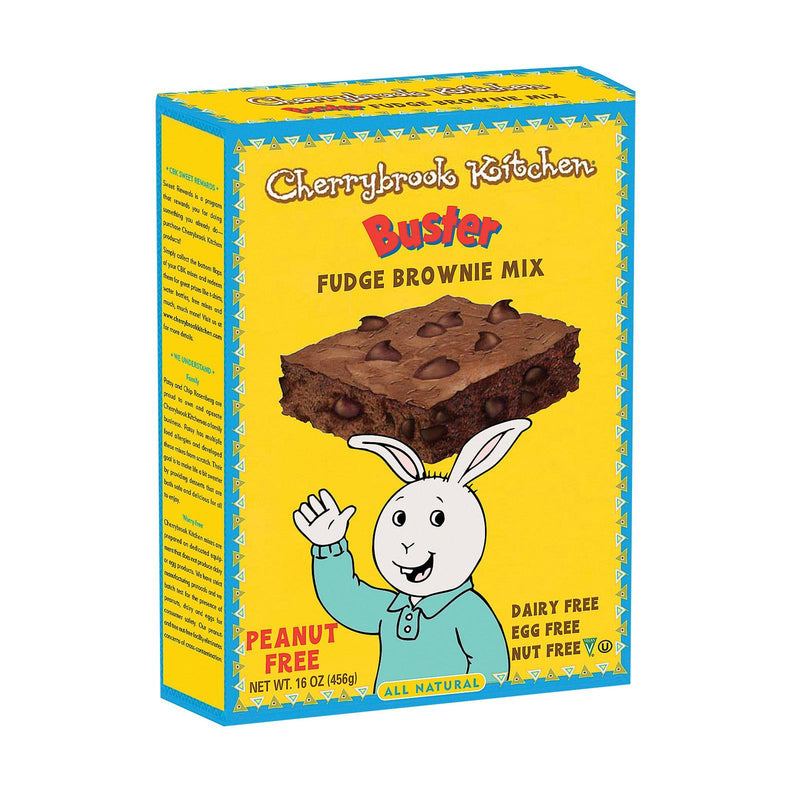 Cherrybrook Kitchen Brownie Mix With Chocolate Chips - Case Of 6 - 16 Oz