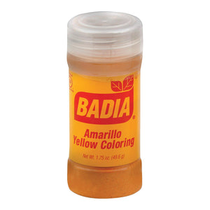 Badia Spices Food Coloring - Yellow - Case Of 12 - 1.75 Oz.