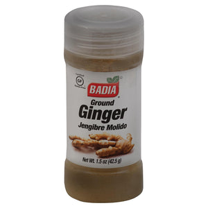 Badia Spices Ground Ginger - Case Of 12 - 1.5 Oz.