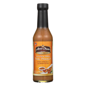 Annie Chun's Thai Peanut Sauce - Case Of 6 - 9.17 Fl Oz.