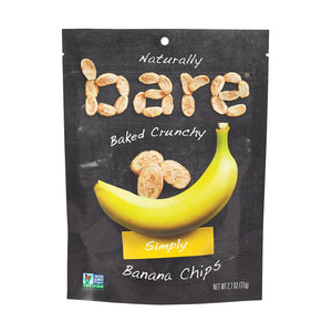 Bare Fruit Bare Fruit Bare Fruit Banana Chip - Case Of 12 - 2.7 Oz.