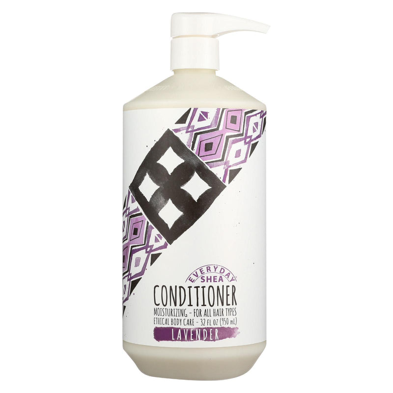 Alaffia Everyday Shea Conditioner Lavender - 32 Oz