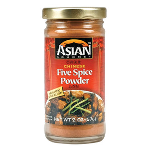 Asian Gourmet Five Spice Powder - Case Of 12 - 2 Oz