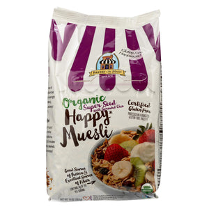 Bakery On Main Organic Happy Muesli - Super Seed With Sprouted Chia - Case Of 4 - 14 Oz