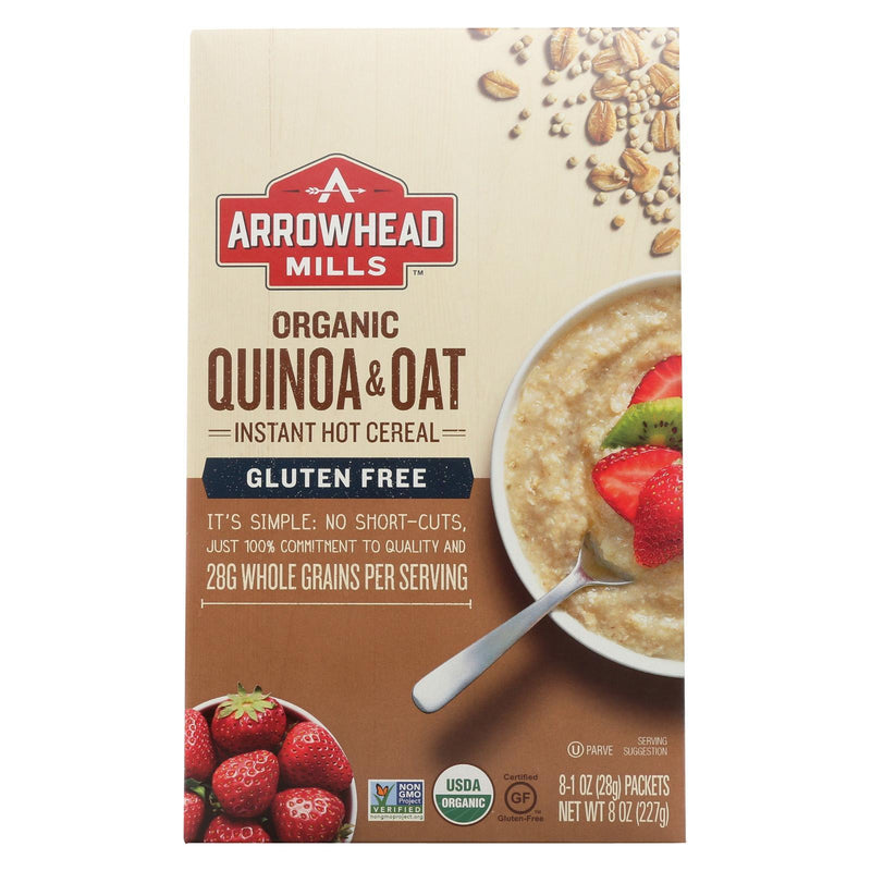 Arrowhead Mills Cereal - Quinoa & Oat - Gluten Free - Case Of 6 - 8 Oz