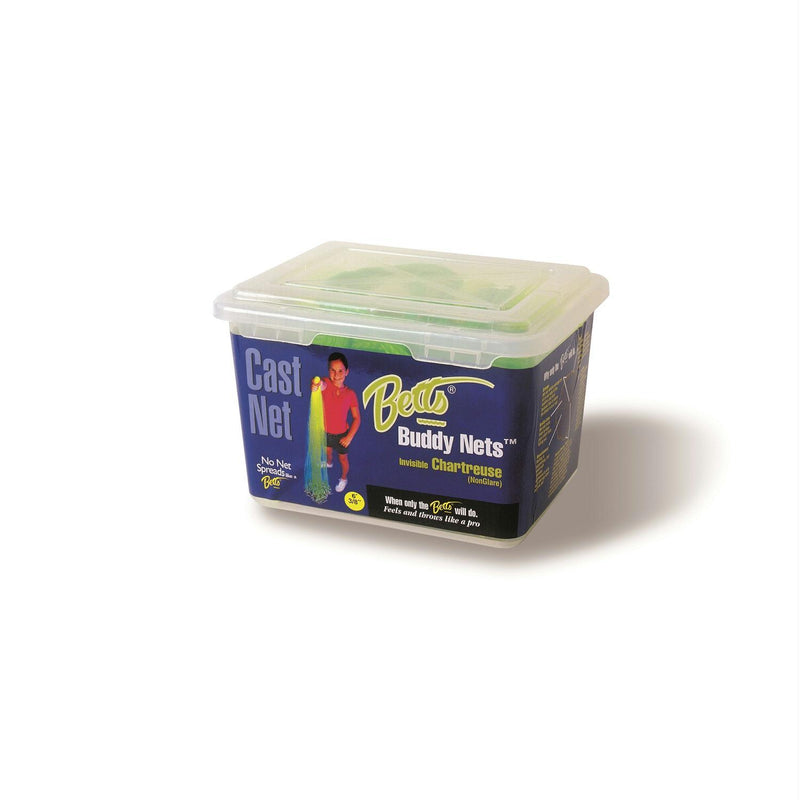 Betts My Betts Buddy Chartreuse Net 3ft  3-8in Mesh Box