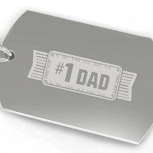 #1 Dad Key Chain Unique Fathers Day Gift Ideas Funny Gifts For Dad