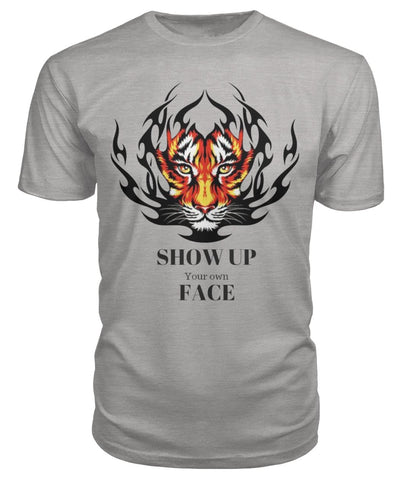 Tiger Face Show Up Unisex T-shirt