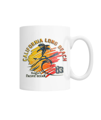 California Long Beach Coffee Mug