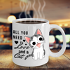 Image of All You Need is Love and a Cat-Kitten Coffee Mug