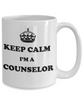 Image of Keep Calm Coffee Mug Awesome