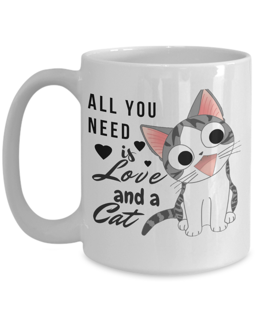 All You Need is Love and a Cat-Kitten Coffee Mug