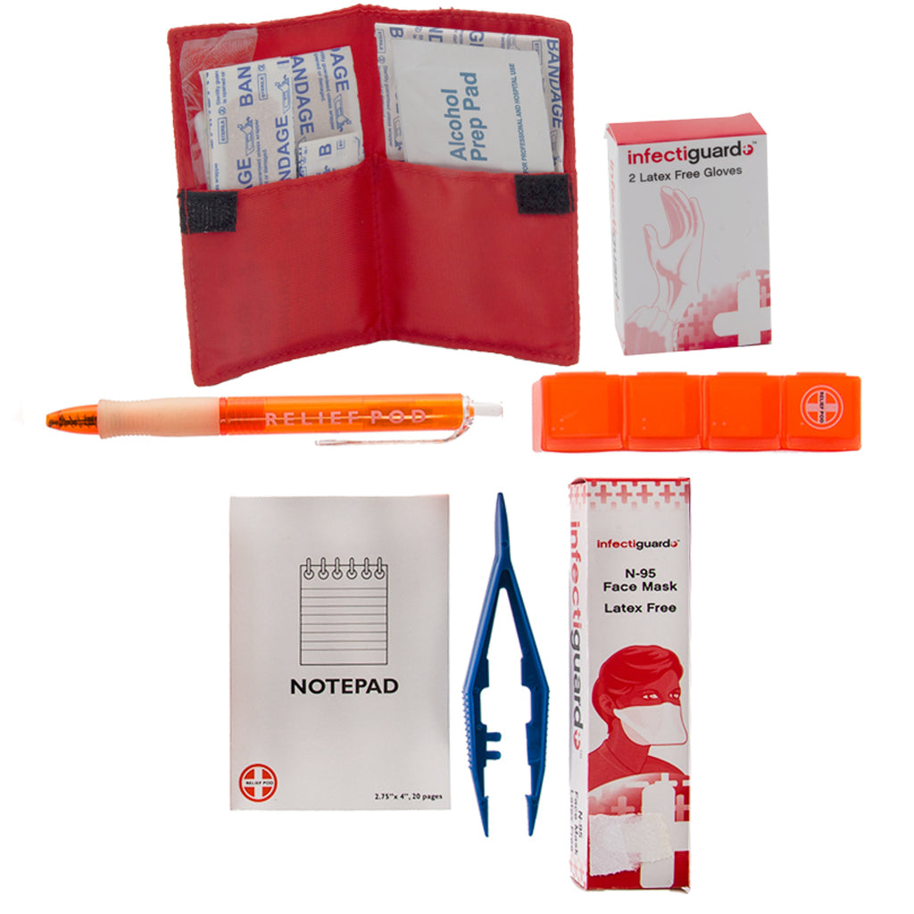 Relief Pod Emergency Kit Survival First Aid
