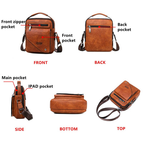 Famous Men Shoulder Messenger Bags