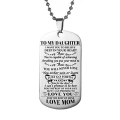Love Tags Pendant Necklace UNX