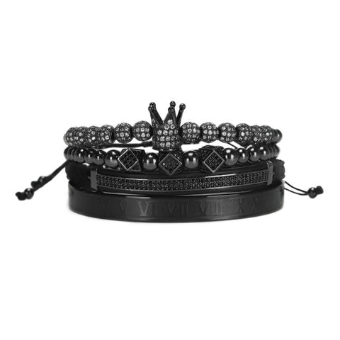 4pcs/set Men Bracelet HQ