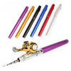 Image of Small Telescopic Mini Ice Fishing Rod Fly Rod Fishing Pole