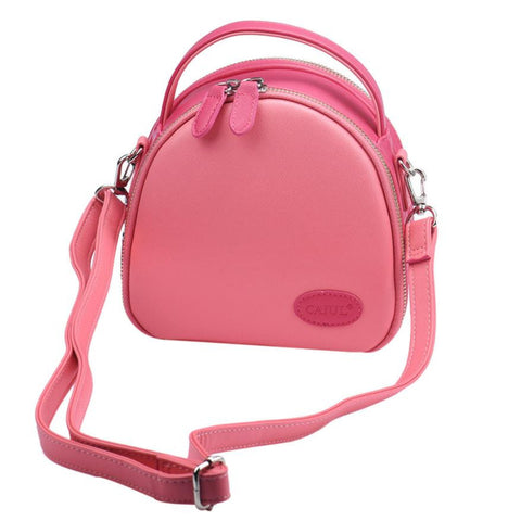 Trendy Fashion Leather Shoulder Bag - Handbags