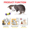 Image of Cat IQ Treat Toy Smarter Interactive Kitten Ball
