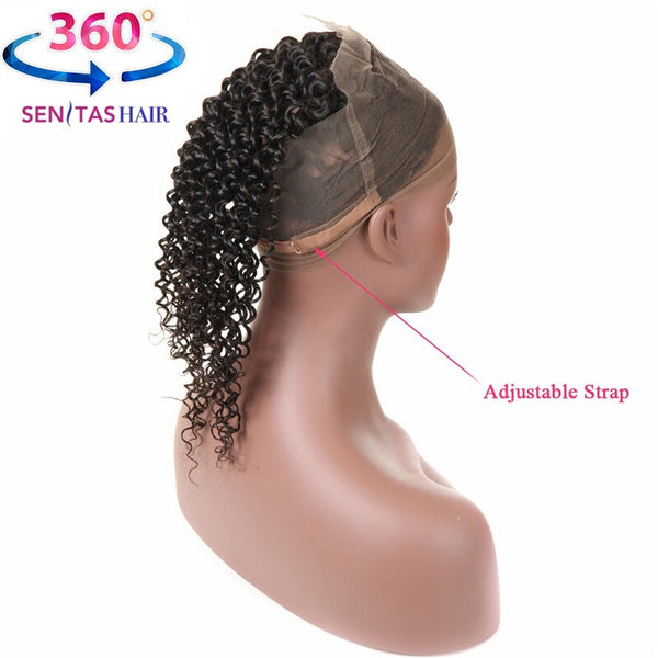 360 Lace Frontal Remy Hair - Curly