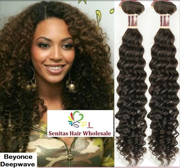 100% BRAZILIAN VIRGIN HAIR - BEYONCE DEEPWAVE - Senita Hair Extension Houston