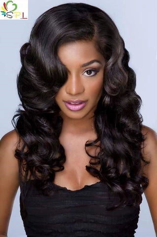 100% BRAZILIAN VIRGIN HAIR - BOUNCY CURLY - Senita Hair Extension Houston