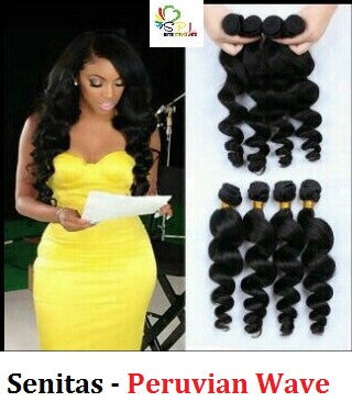 100% PERUVIAN HAIR  - WAVE - Senita Hair Extension Houston
