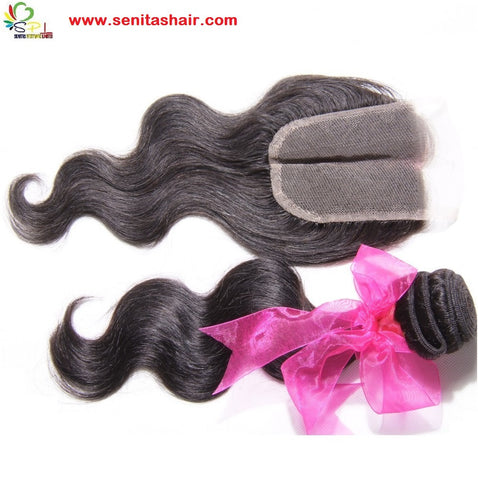 BODY WAVE LACE TOP 4*4 CLOSURE - Senita Hair Extension Houston