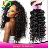 100% PERUVIAN HAIR WEAVE  - ITALIAN WAVE UNPROCESSED VIRGIN HAIR WEAVE - Senita Hair Extension Houston